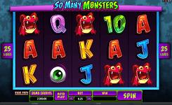 Игровой автомат So Many Monsters